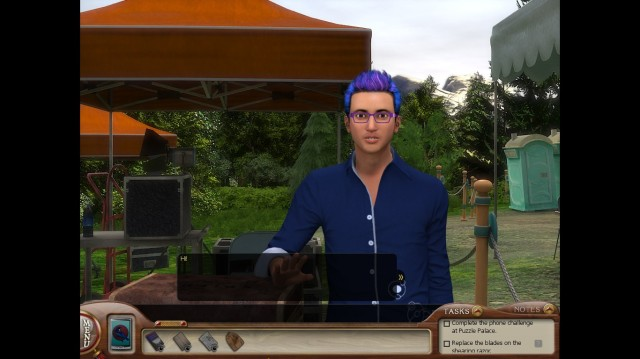 Nancy Drew MED Sonny Joon Screenshot