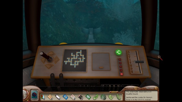 Nancy Drew MED Submarine Screenshot