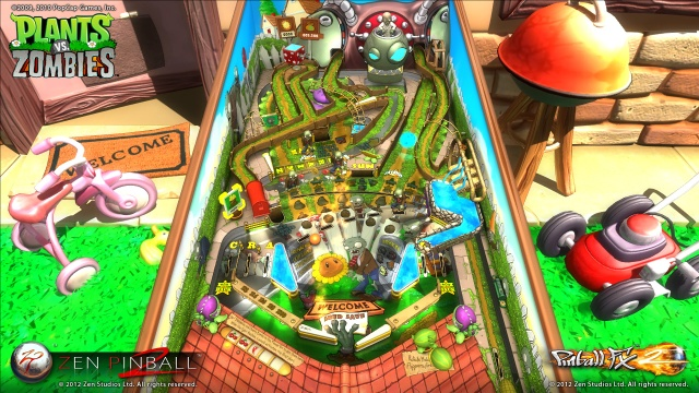Plants vs. Zombies Pinball Table Screenshots from Official Trailer (2)