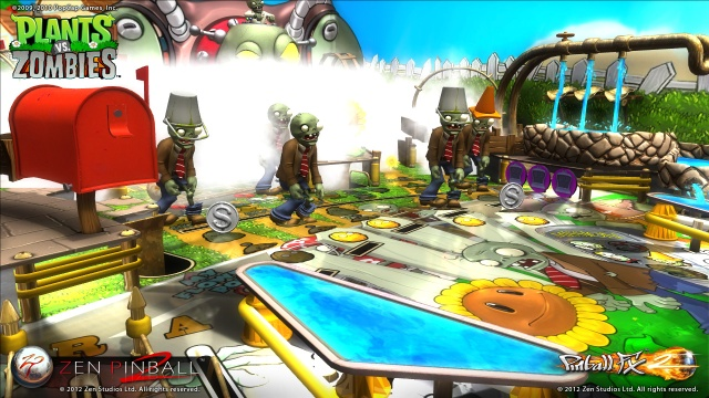 Plants vs. Zombies Pinball Table Screenshots from Official Trailer (3)