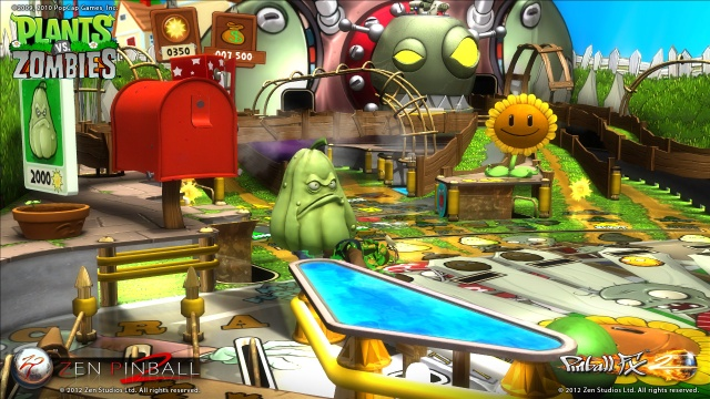 Plants vs. Zombies Pinball Table Screenshots from Official Trailer (8)
