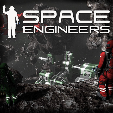 Space Engineers Cover from Official Presskit