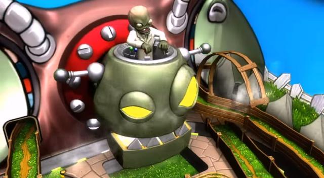 Zen Pinball 2 Zomboss from Official PlayStation Trailer