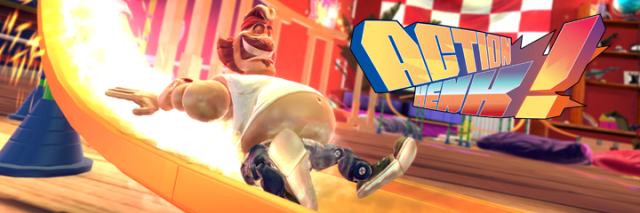 Action Henk Logo from Official Presskit