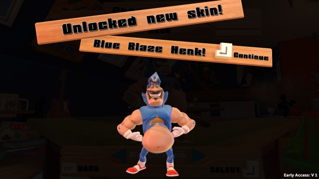 Blue Blaze Henk Screenshot
