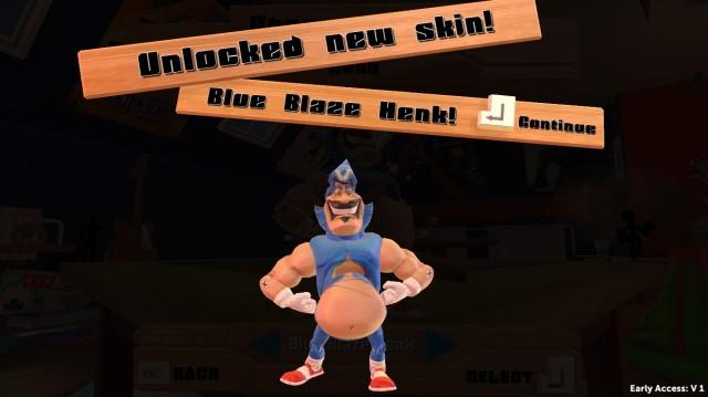 Blue Blaze Henk Screenshot