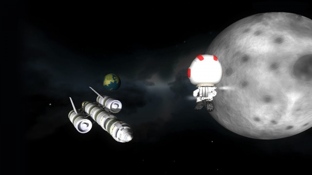 KSP Screenshot 1 from Steam Store Page