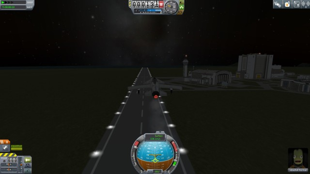 My first (and so far, only) successful takeoff.