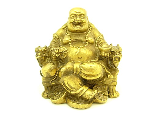 Laughing Buddha in Lilita Asana from Pendencrystals website