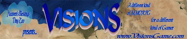 Visions MMO banner from Official Website