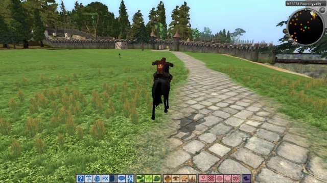 One of the mounts you will eventually be able to tame/train.