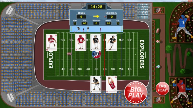 Gridiron Solitaire Screenshot 1 from Steam Store