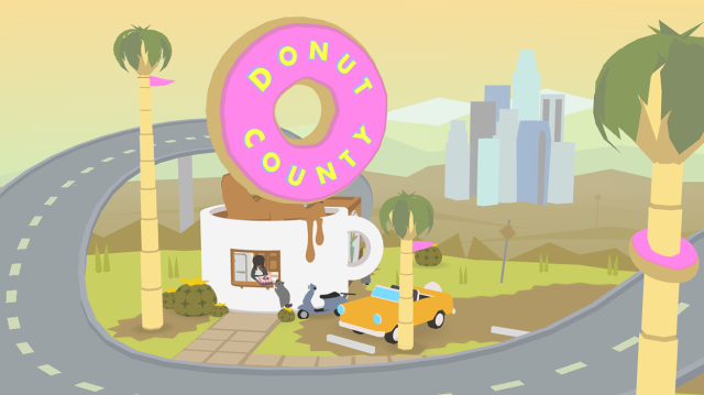 "Donut County now is ""set in the place Esposito lives, telling the stories he's involved in."""