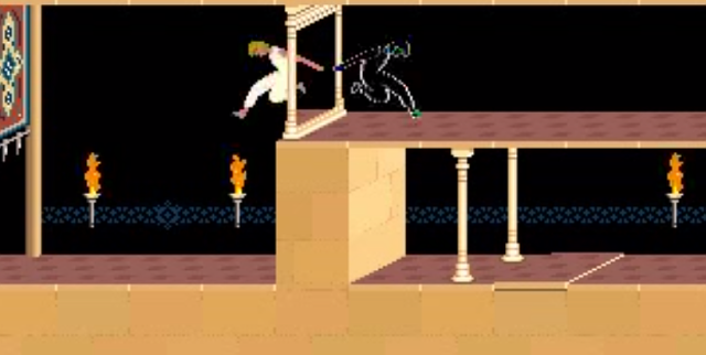 Prince of Persia Level 4 Mirror from YouTube--CLASSIC GameChannel channel