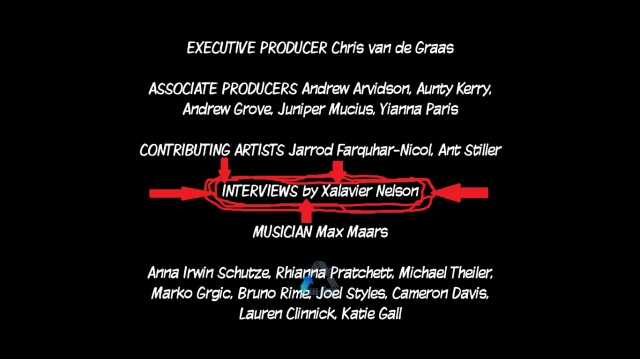 Name in Credits of Ninja Pizza Girl Screenshot Video Games and the Bible